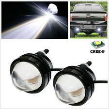 2Pcs Xenon White CREE High Power Fish Eye Car Backup Reverse Parking / Fog Light