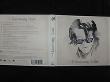 CD + DVD FROM GAINSBOURG TO LULU /