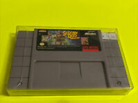 🔥💯 WORKING SUPER NINTENDO SNES GAME CARTRIDGE 🔥 SCOOBY-DOO MYSTERY 🔥