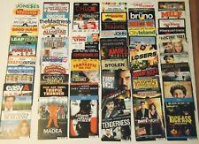 Lot of 25 Random Horror Themed Movie TV Television Backer Cards Mini Posters