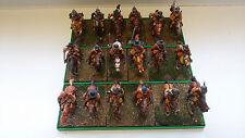 28mm painted figures ECW/TYW.  18 Cavalerymen (18 mounted)