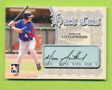2011 ITG Heroes & Prospects Silver Hard Cuts Auto - Marcus Littlewood (HC-ML)
