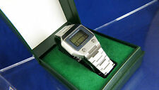 Vintage Swiss Guarda Val Quartz LCD Digital Watch 1970s Boxed Very RARE