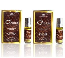 2 COBRA 6 ml By Al Rehab Best Seller Profumo/Attar/ittar/olio confezione da 2
