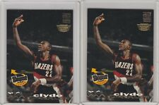 1993-94 Topps Stadium Club Members #354 Frequent Flyers Clyde Drexler Lot of 2