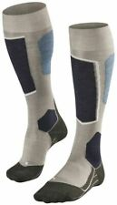 Falke Womens Skiing 6 Knee High Socks - Grey Melange