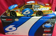 MARK MARTIN, 1/24 2005 TEAM CALIBER GOLD CHROME, #6, MARK MARTIN