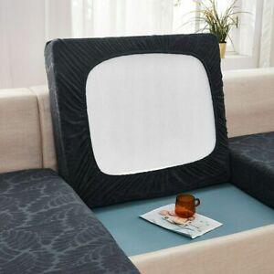 Jacquard Thick Sofa Cushion Cover Cushion Slipcover Elastic Funiture Protector