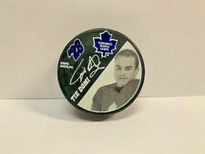 Tie Domi Maple Leafs Hockey Official Licensed Puck