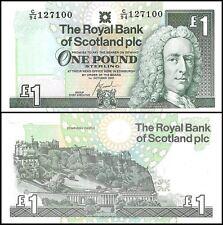 Scotland 1 Pound, 2001, P-351e, UNC