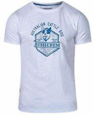New listing Aussiebum Australian Cattle Dog White Cotton T-Shirt Sz Xl Designed in Australia