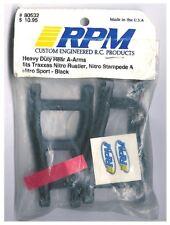 RC Truck RPM 80532 Rear Suspension A-Arms Black: Traxxas Nitro Rustler HOP-up