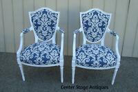 60279  Pair Bergere Decorator  Armchair Chair s