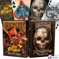 2 DECKS BICYCLE 1 ANNE STOKES AGE OF DRAGONS AND 1 ALCHEMY ENGLAND PLAYING CARDS