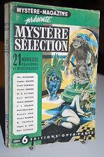 Mystère-Magazine 21 Nouvelles policières et Mystérieuses série 6 OPTA 1949
