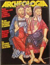 Archéologia n° 186 - 1984 - Evangiles d'Henri Le Lion - Abri de chasseur néolith