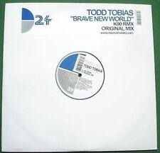 "Techno - Todd Tobias Brave New World 12"" Single"