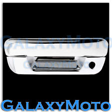 05-12 GMC Canyon Triple Chrome Plated ABS Tailgate Handle with Keyhole Cover