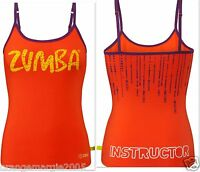 ZUMBA FITNESS Dance INSTRUCTOR RacerBack Top Shirt Tank  fr. Convention S M L