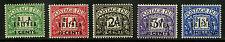 Eritrea  1950   Scott #J6-J10   Mint Very Lightly Hinged Set