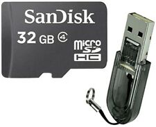 SanDisk 32GB 32G Class4 Micro SD SDHC MicroSDHC Card TF + R2