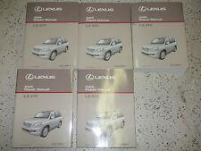 2009 Lexus LX570 LX 570 Service Shop Repair Manual SET FACTORY DEALERSHIP HUGE