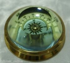Bussola cristallo da collezione TITANIC navigazione mare orientamento militare