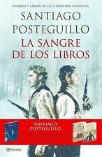 La Sangre de Los Libros by Santiago Posteguillo (Spanish Edition) BOOK IN PAPER