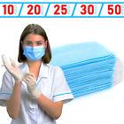 1 - 50x Einweg Mundschutz Masken, Gesicht- Spuckschutz, Atemschutz Maske