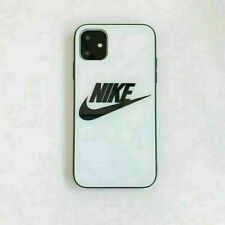 Glass Fashion Nikе Adidаs White Case For Apple iPhone 11 Pro X XS Max 6 7 8 Plus