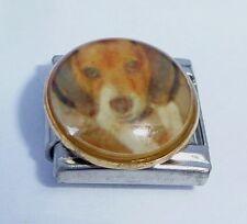 BEAGLE Dog Italian Charm DG113 - Pet Dogs fits 9mm Classic Starter Bracelets