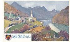 AK aus St.Nikola an der Donau, Oberösterreich,  DSV-Karte 285 (K5)