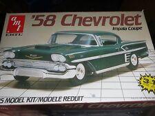 AMT 1958 CHEVY IMPALA 3n1 1/25 Model Car Mountain KIT OPEN