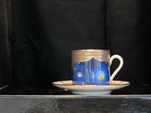 Royal Worcester Millennium Espresso Cup & Saucer