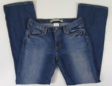 Gap Women's Jeans Size 8 Low Rise Boot Cut Stretch Sand Blasted Distressed  X