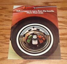Original 1971 Volkswagen VW Full Line Sales Brochure 71 Beetle