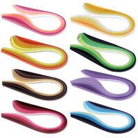 GI- ALS_ 260 Pcs/Pack 39cm x 5mm Multi-colour Paper Quilling Stripes benefaction