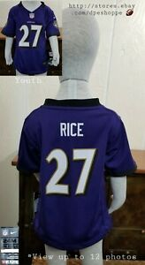 NEW NFL Baltimore Ravens Ray Rice #27 Nike Baby Toddler Jersey Sz 24 Mos NWT