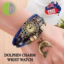 Mothers Day Special - Charming Ladies Vintage Weave Wrap Crystal Bracelet Watch