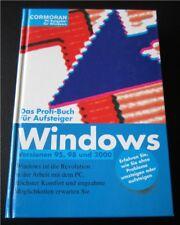 CORMORAN Windows Versionen 95, 98 und 2000, 256 Seiten, 2000, geb.