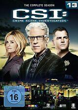 CSI: LAS VEGAS-SEASON 13 6 DVD NEU