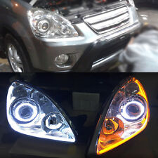 Headlight assembly Retrofit DRL Turn Light Halo Lens for Honda CRV 2005-2006