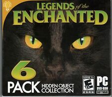 DOG UNIT NEW YORK Hidden Object LEGENDS OF THE ENCHANTED 6 PACK PC Game NEW