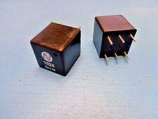 (5) NEWPORT 1024 PULSE TRANSFORMER 6 PIN DIP 2000Vrms 1.2CT:1CT 8.8mH 25pF