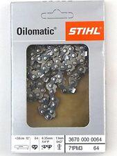 "STIHL Sägeketten Picco Micro 3,71PM3 -1/4"" - 1,1 mm- 64 T 3670 000 0064"