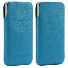 Für Apple Iphone 4/4S/ S Handy ECHT LEDER Tasche/ Case/ Etui/ Pouch Gutti Türkis