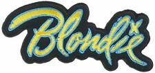 Blondie - Band Logo - Embroidered Patch - Brand New - Music Band 1177
