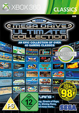 XBOX 360 Sega Mega Drive Ultimate Collection 40 Spieleklassiker NEU&OVP
