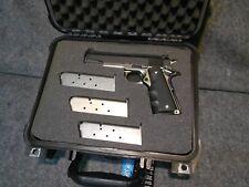 NEW Pelican-style handgun Case for COLT 1911 with CUSTOM Foam CUTOUTS Apache2800