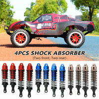 Black RCAWD for 1-10 ARRMA 4s Shock Absorber Outcast /& Kraton Typhon Front Rear Damper Full Aluminum Alloy Upgrade 4Pcs